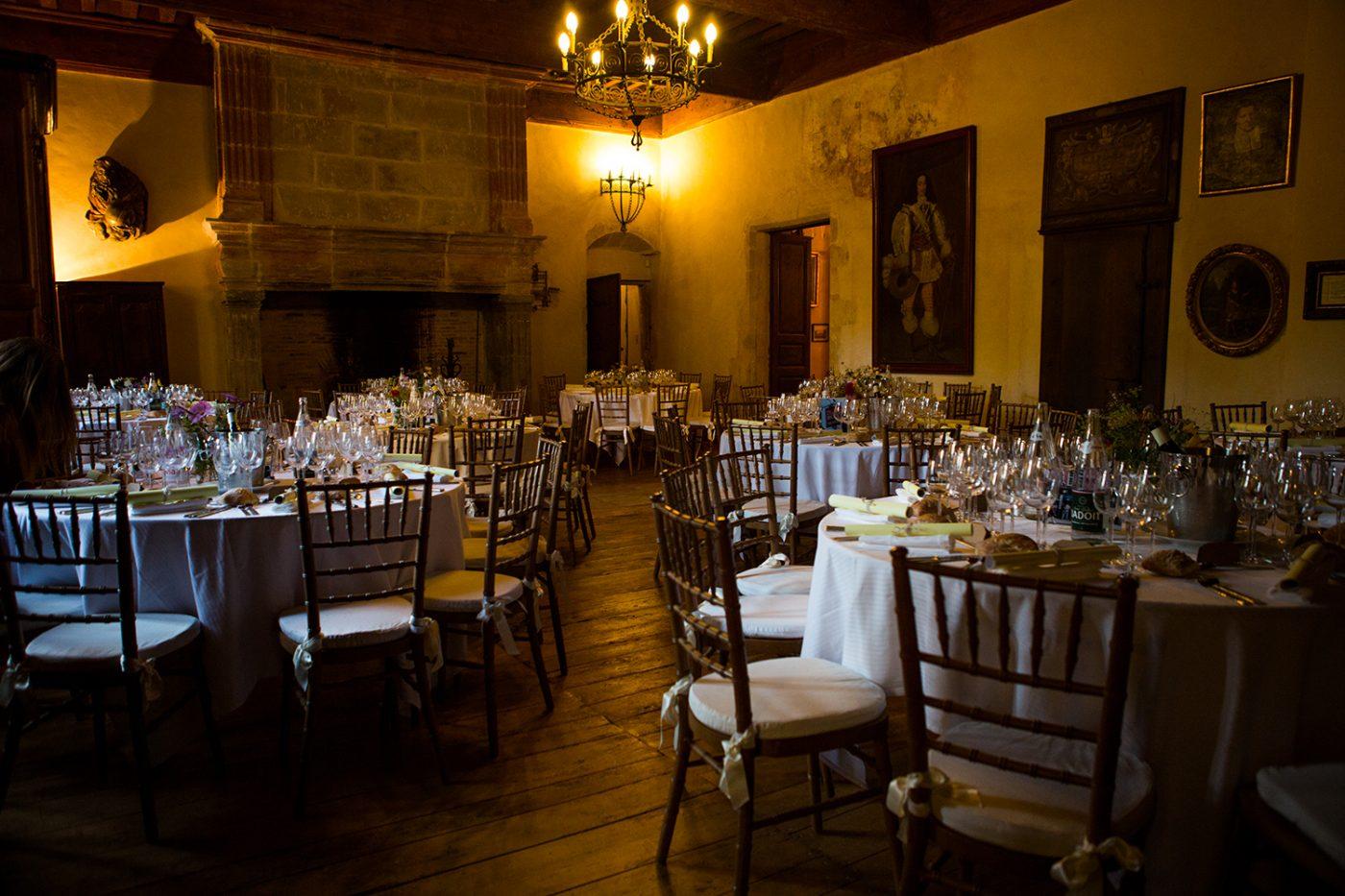 Reception Mariage Salle des Chevaliers / Wedding reception Knights' Hall