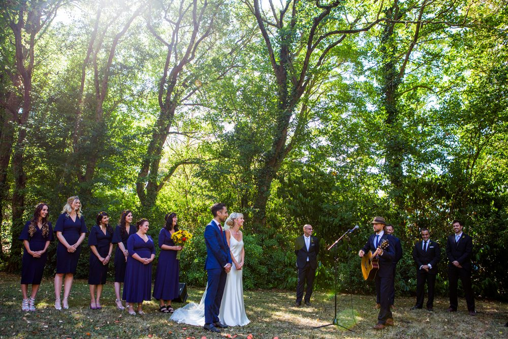 Celebration mariage dans le parc du château / Wedding Celebration in the Castle Park