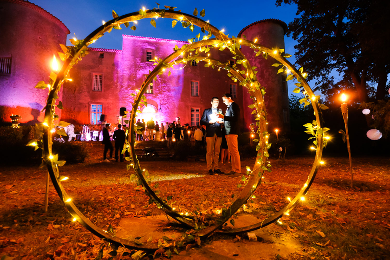 Château Cathare Mariage réception / Cathar Chateau France Wedding Reception
