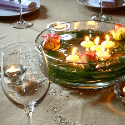 Detail décoration de table / Detail table decoration