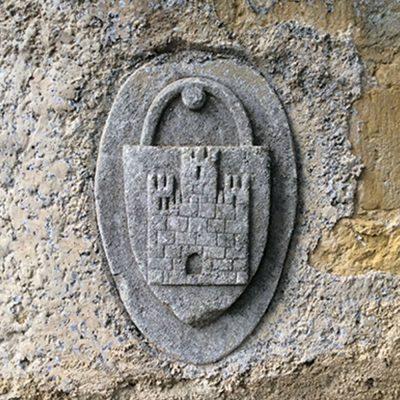 Blason du château de Plaigne / Chateau de la Plaigne Shield
