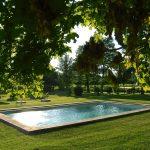 Piscine du chateau la commanderie / Swimming pool chateau la commanderie