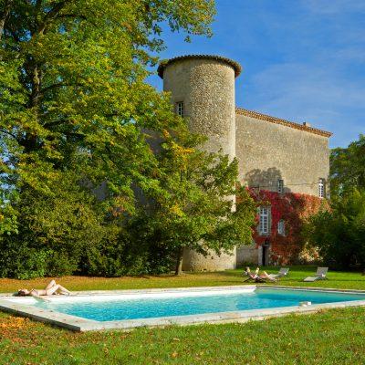 Piscine Chateau La commanderie / Swimming pool Chateau La Commanderie