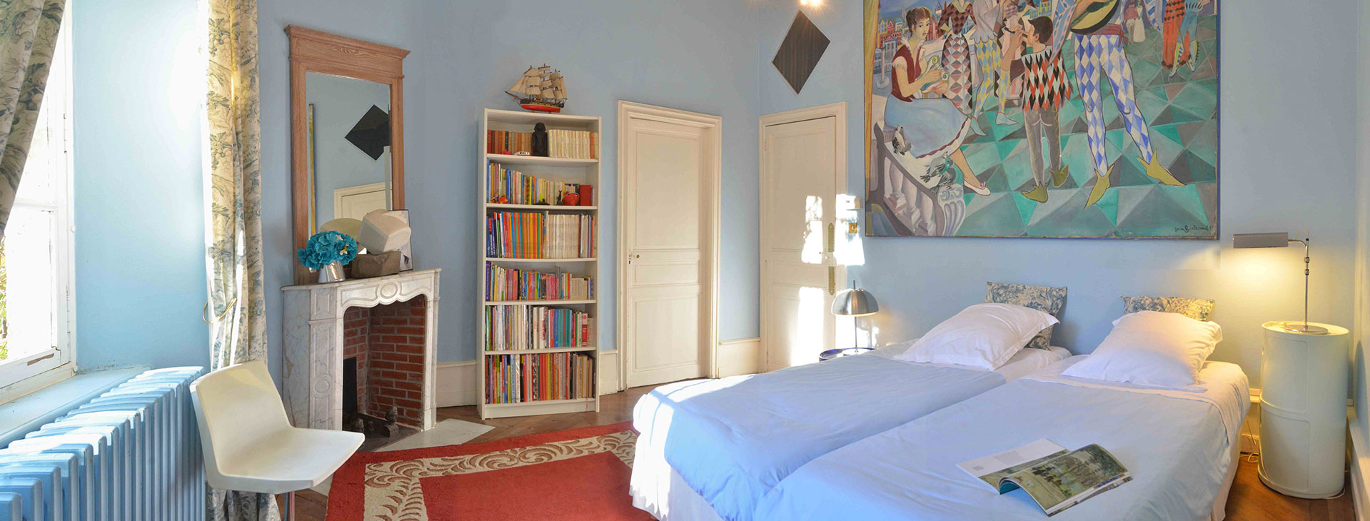 chambre Arlequin / Arlequin bedroom