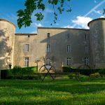 Magnifique vue de face du château / magnificent front view of the castle