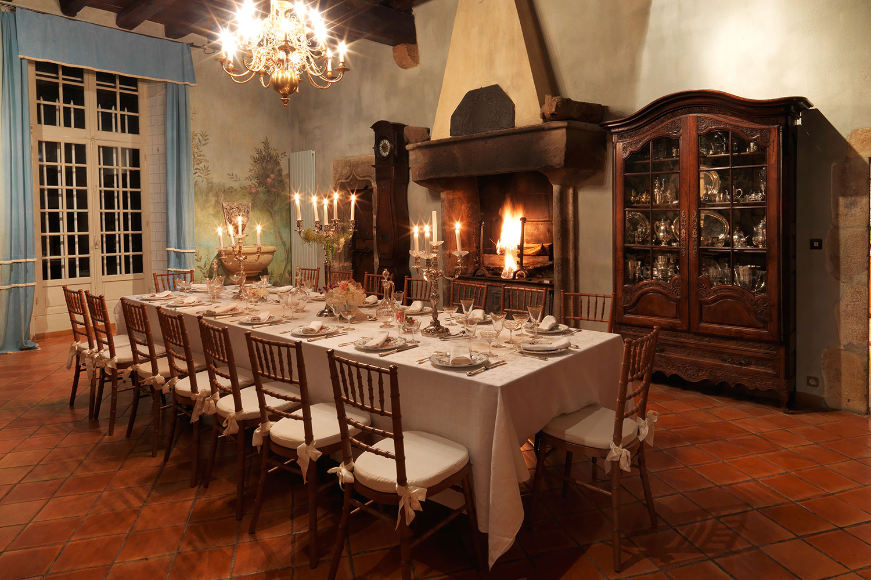Salle à manger Pastel / Pastel dining room