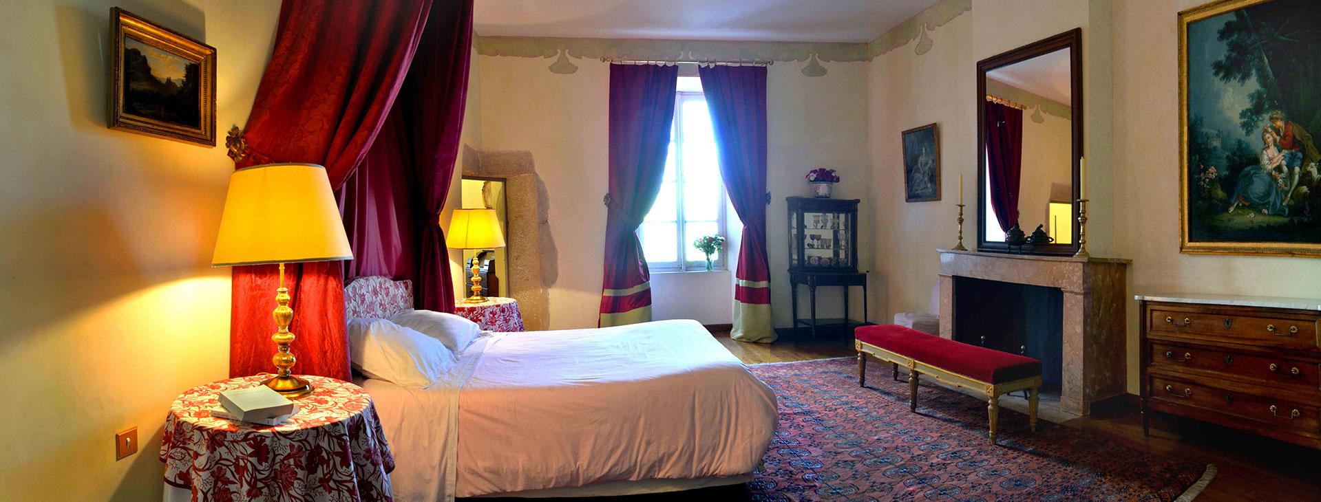 Chambre vénitienne / Venitian bedroom