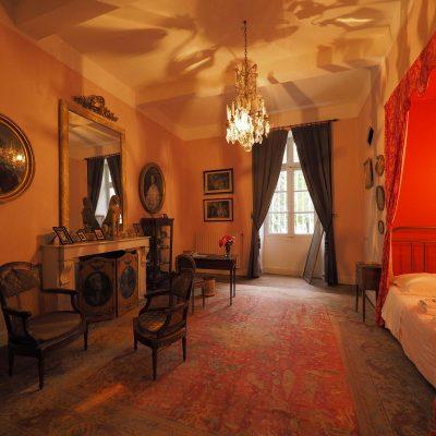 Shynge bedroom / Chambre de la Sphinge
