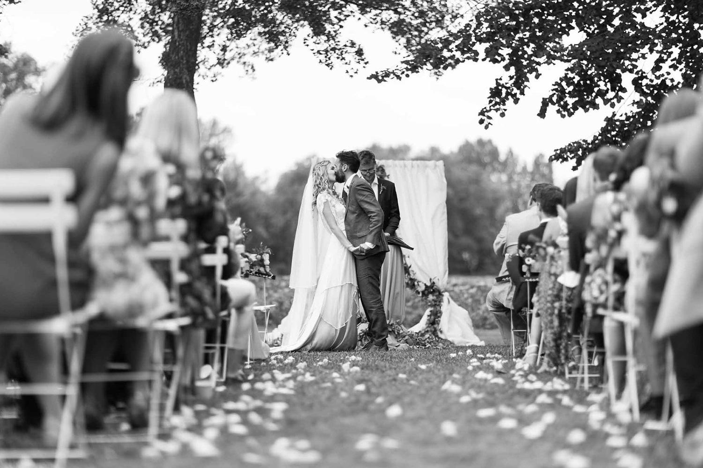 Cérémonie de Mariage dans le parc / Wedding ceremony in the park