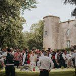 Mariage cérémonie Chateau Commanderie / wedding reception
