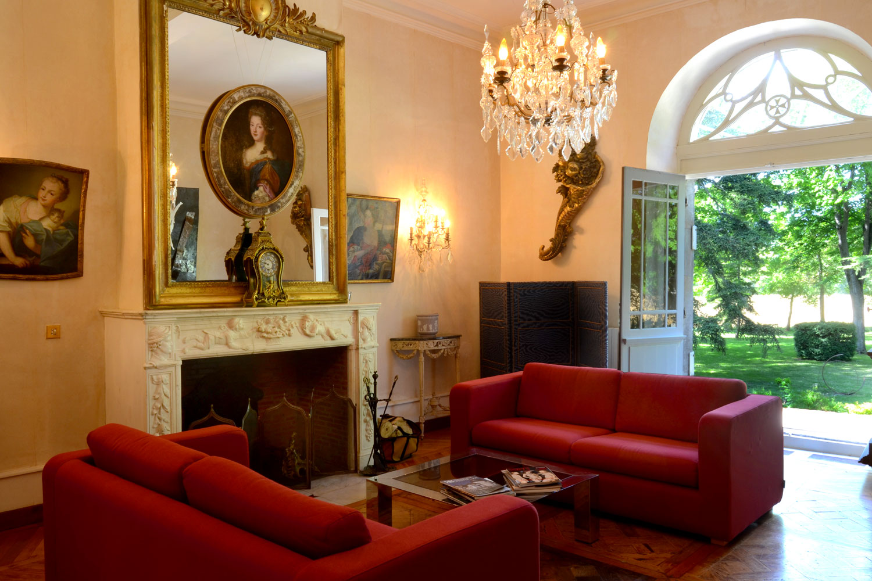 Salon d'été / Summer living room