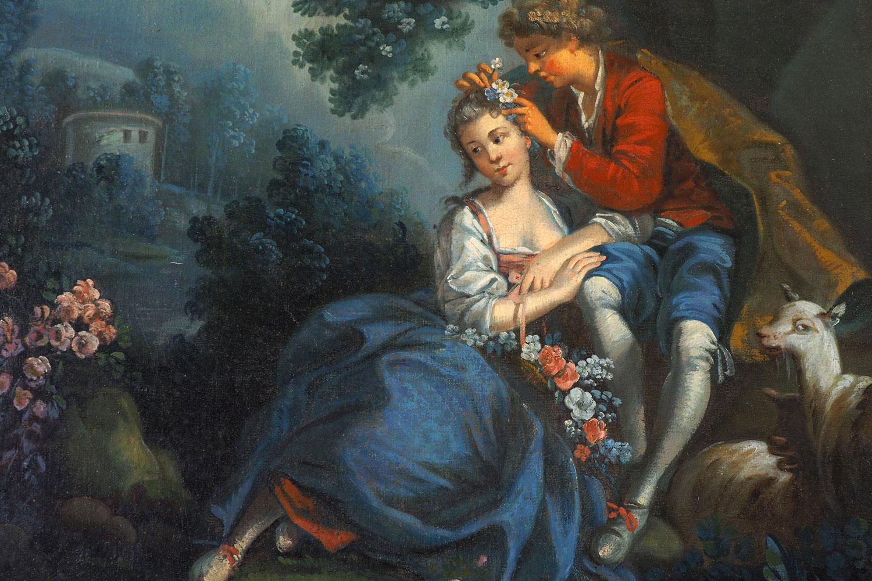 Tableau dans la chambre vénitienne / Painting in the Venitian bedroom