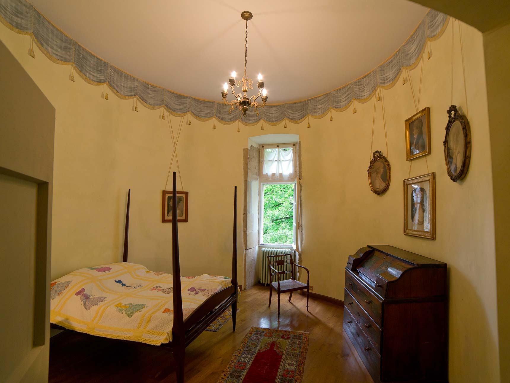 American bedroom / Chambre américaine