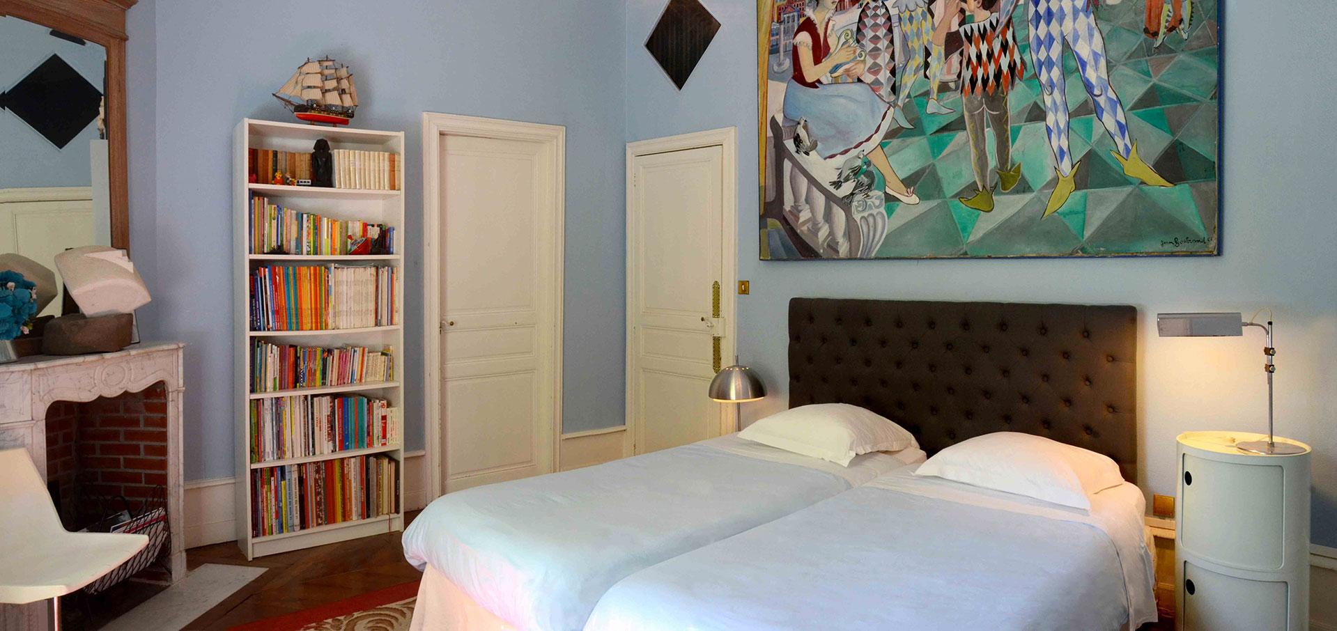 Arlequin bedroom / chambre Arlequin