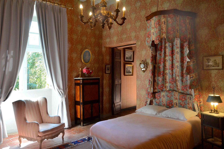 Commander's bedroom / Chambre du Commandeur
