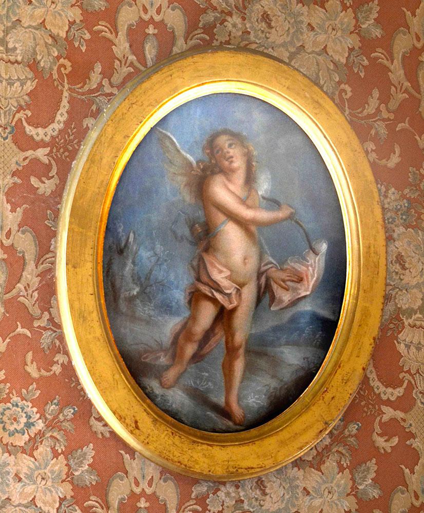 Painting in Commander's bedroom / Tableau dans la chambre du Commandeur