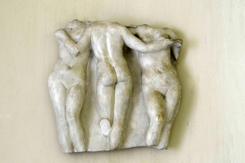 Sculpture in Leuleu Bedroom / Sculpture dans la chambre Leuleu